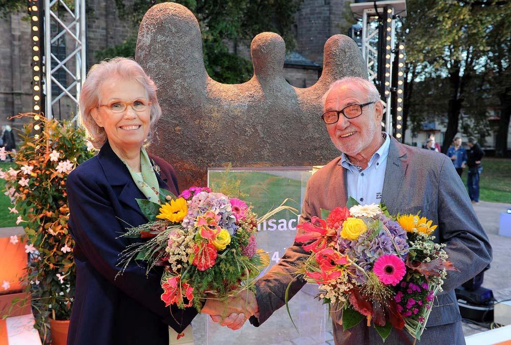 Gabriela Fürstin zu Sayn-Wittgenstein-Sayn und Manfred Franz